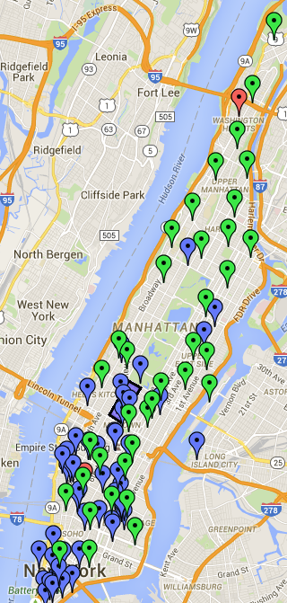 Click this map for more detailed wifi hotspots in Manhattan.