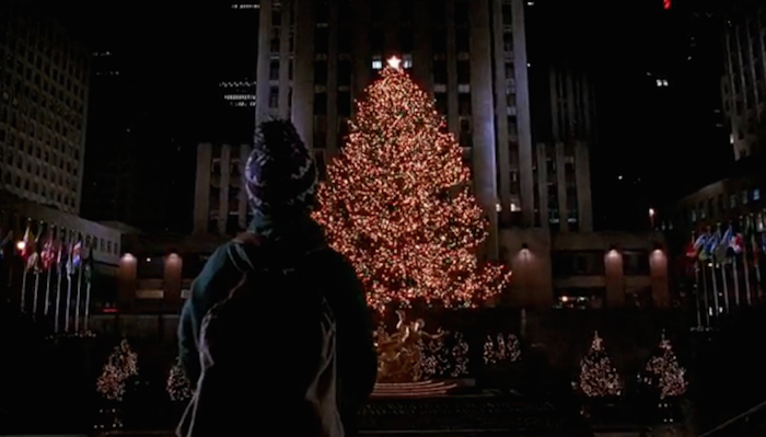 NYC Christmas scene in Home Alone 2