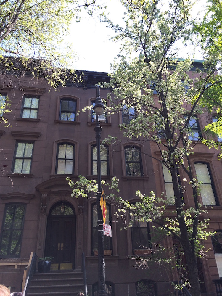 Carrie Bradshaw's home in Sex and the City