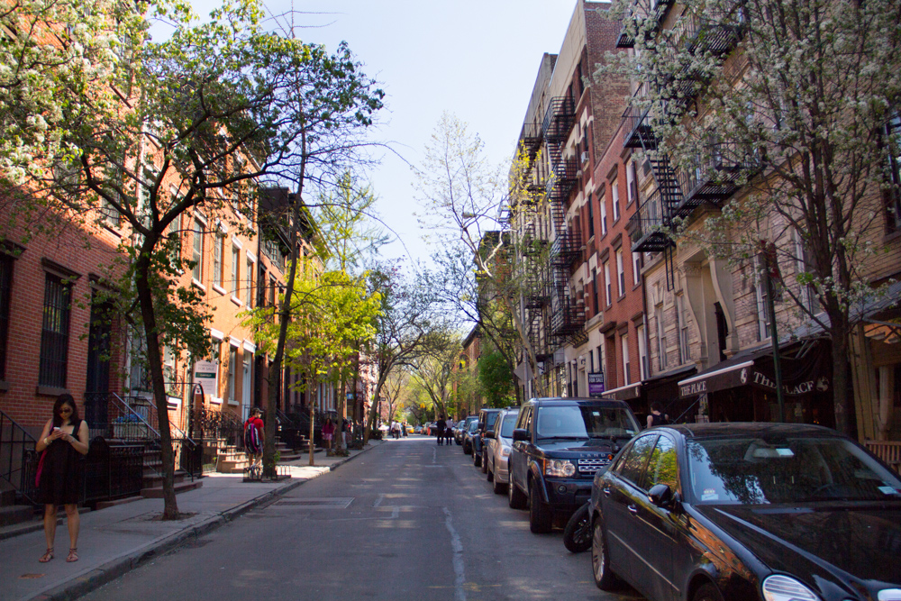Springtime in the West Village, NYC