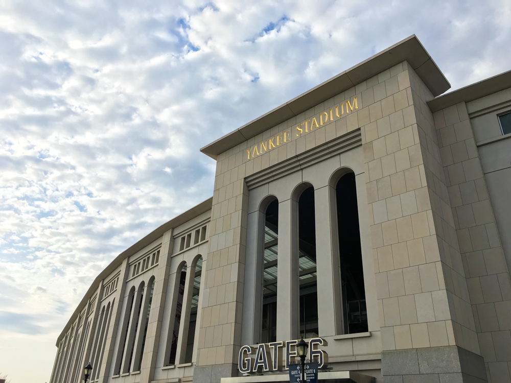 Yankee Stadium in The Bronx.