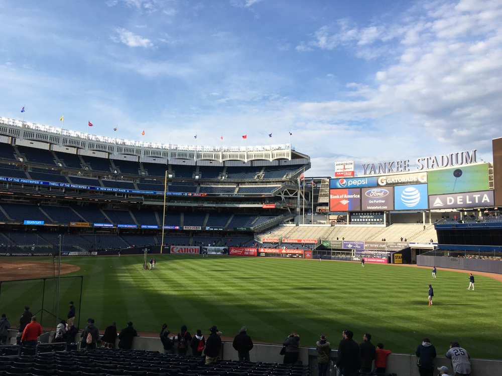 Home of the New York Yankees