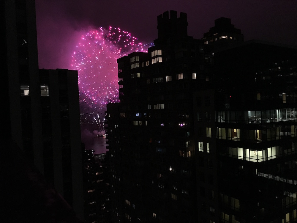 Macy's 4th of July fireworks, NYC, 2016