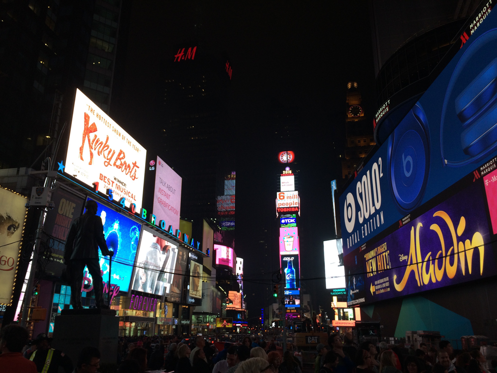 Times Square, NYC 2015