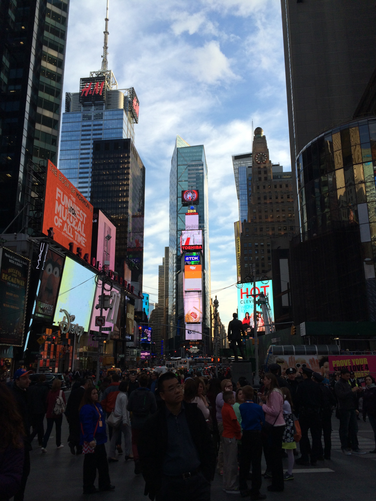 Times Square, NYC 2014