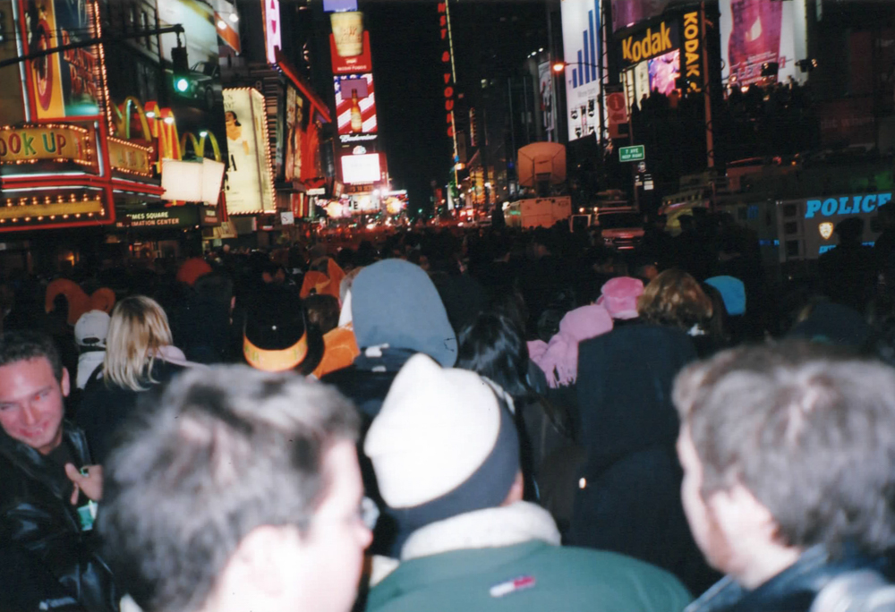 New Years Eve in Times Square, NYC